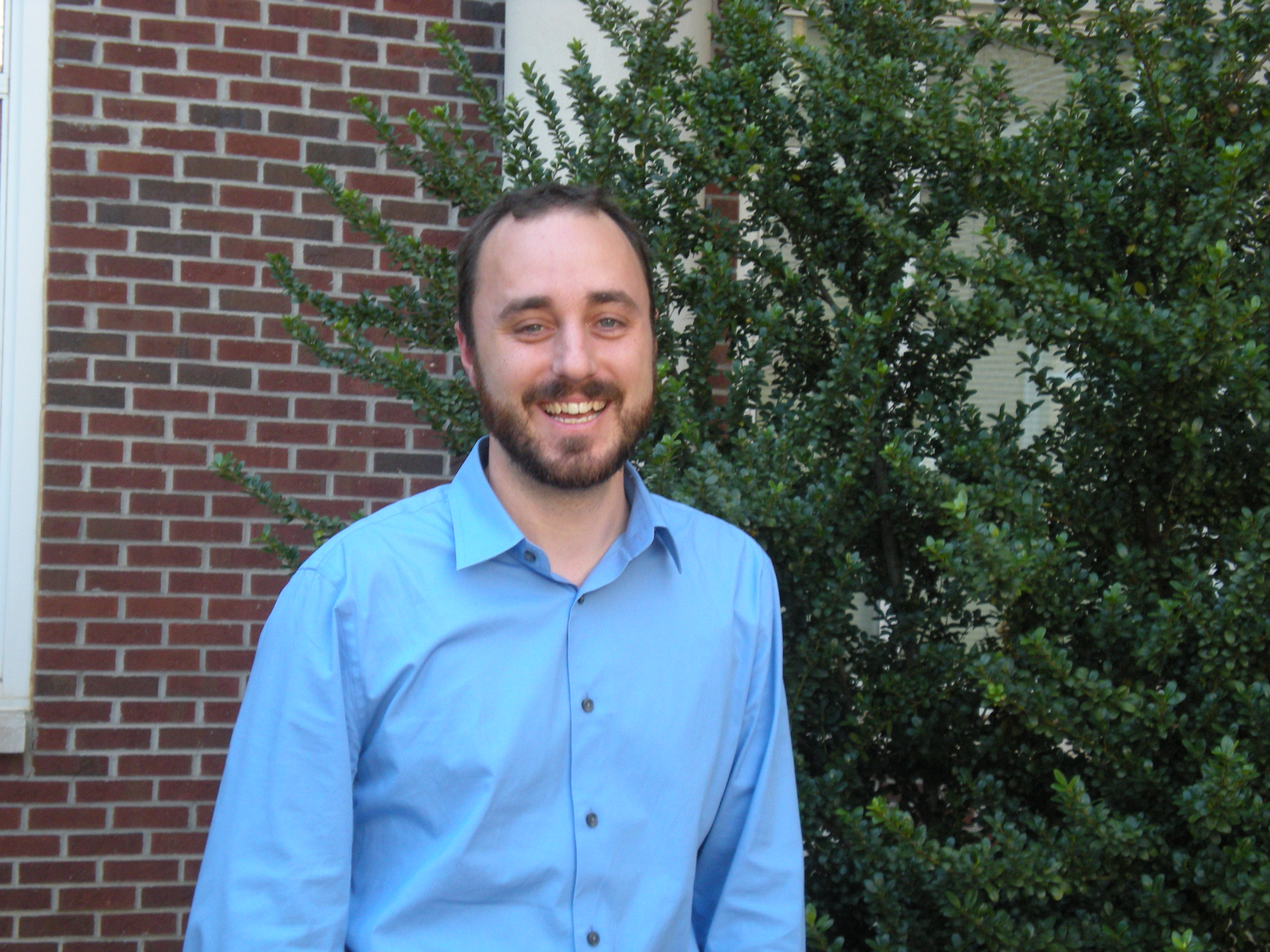 """Matthew Heard, assistant professor in the biology department, has recently been published in """"Ecology Letters.""""   Photo by Frances Parrish parrishf@mytjnow.com"""