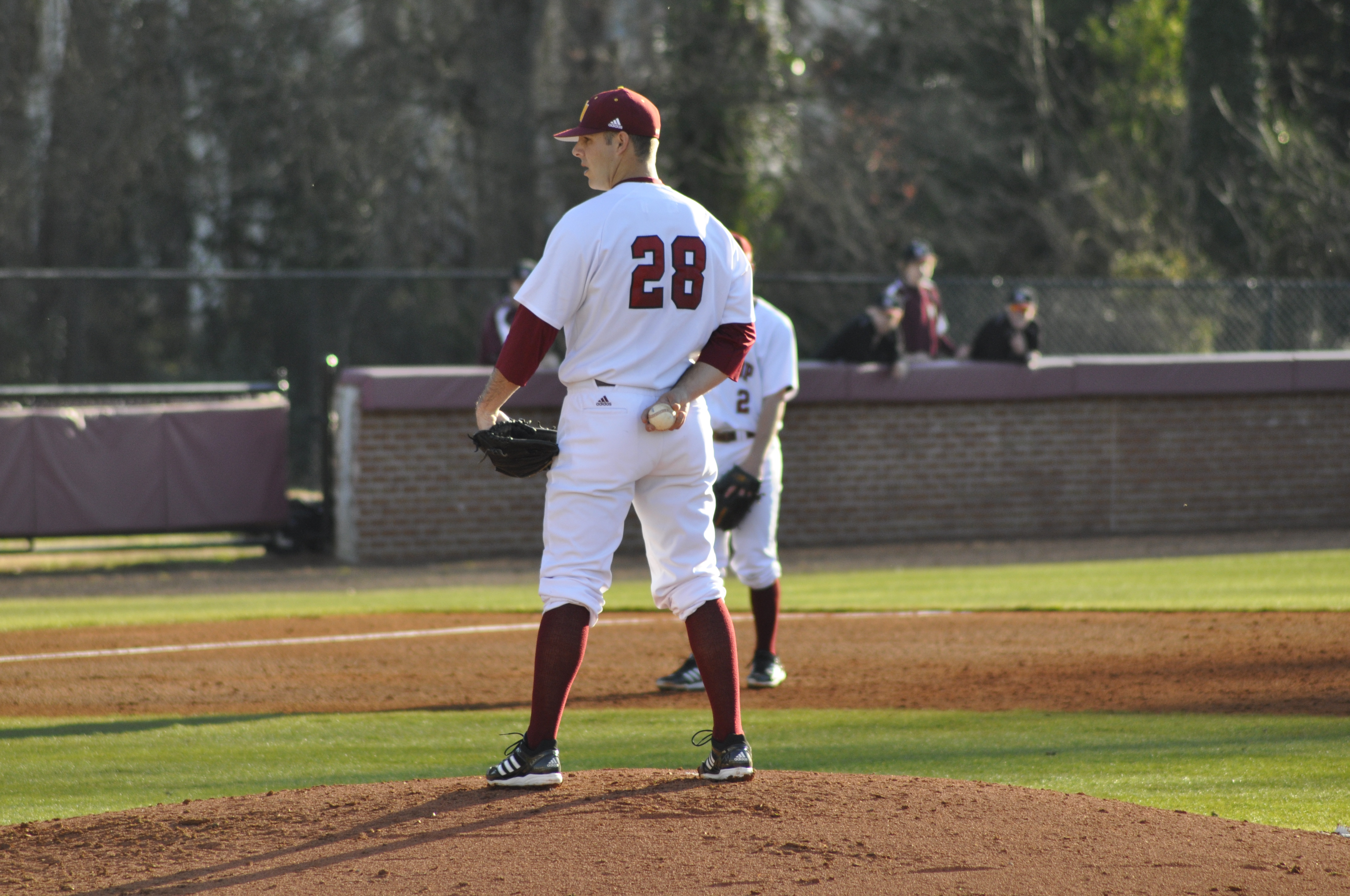 Senior Matt Pierpont on the mound Photo by Synera Shelton • sheltons@mytjnow.com