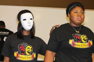 "Student organization, Skin Deep, performed a skit titled ""Why won't you have me?"" at the Peace Day event last Thursday. The skit focused on peace in the household.  Photo by Carolyn Rennix • Special to The Johnsonian"