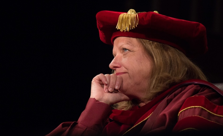 Dr. Comstock Williamson at Convocation 2013. Photo by Jacob Hallex, hallexj@mytjnow.com.